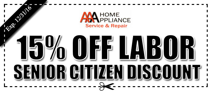AAA Home Appliance Repair Coupon Agoura Hills CA